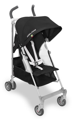 Maclaren Globetrotter Black White Baston Bebek Arabası