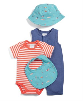 Mamas Papas 4LÜ SHARK SET