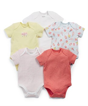 Mamas Papas 5Lİ ICE CREAM SLEEPSUITS