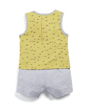 Mamas Papas ANT MOCK LAYER ROMPER