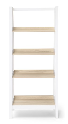 Lawson Bookcase - Natural/White