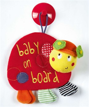 Lotty Ladybird Baby On Board