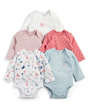 Mamas Papas 5PK UNICORN B/SUIT
