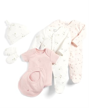 Mamas Papas 6PC FLRAL ST