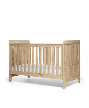 Mamas Papas Atlas Cot Bed Pale Oak