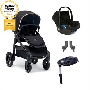 Mamas Papas Ocarro Jewel Mobility Set Black Diamond