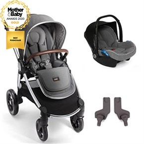 Mamas Papas Ocarro Travel Sistem Bebek Arabası Grey Twill