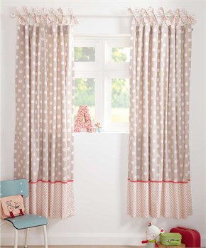 Mamas Papas PIXIE & FINCH GIRLS CURTAINS