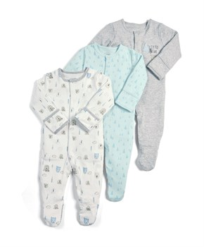 M&P 3 LÜ BEAR SLEEPSUITS