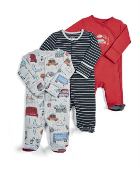 M&P 3 LÜ CAR SLEEPSUITS