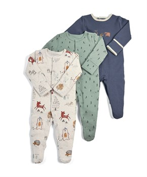 M&P 3 LÜ NATURE SLEEPSUITS