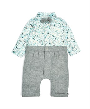 M&P AOP MOCK ROMPER