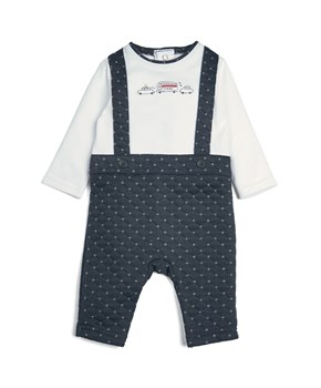 M&P MOCK ROMPER TXI PRINT