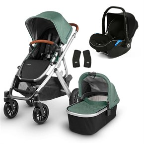 Uppababy 2019 Vista Travel Set Bebek Arabası Emmett