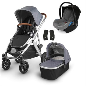 Uppababy 2019 Vista Travel Set Bebek Arabası Gregory