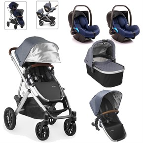 Uppababy Vista Twin Set Bebek Arabası Gregory